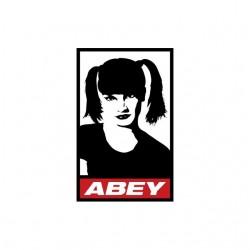 NCIS Abby parody Obey white...