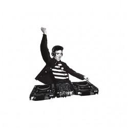 elvis dj mix tshirt sublimation