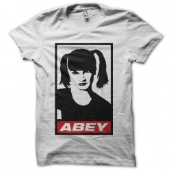 Tee shirt NCIS Abby parodie Obey  sublimation