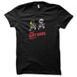 tee shirt super daft bros...