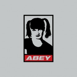 NCIS Abby parody Obey gray sublimation t-shirt