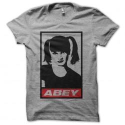 NCIS Abby parody Obey gray...