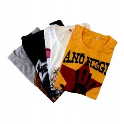 Pack de 4 t-shirts au choix
