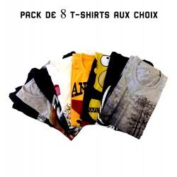 8 shirts pack