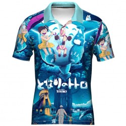 Polo totoro full sublimation