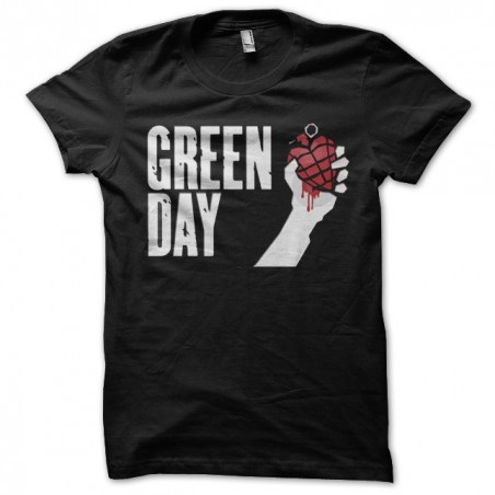 Green Day Pomegranate Poster Black Sublimation T-Shirt