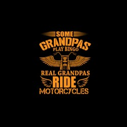 grandpas biker tshirt sublimation