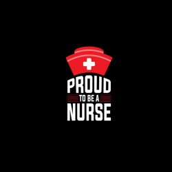 proud to be a nurse tshirt sublimation