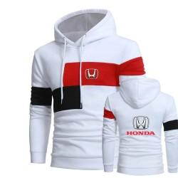 white honda jacket hoodie