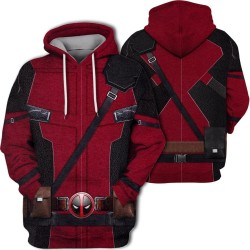 deadpool jacket hoodie