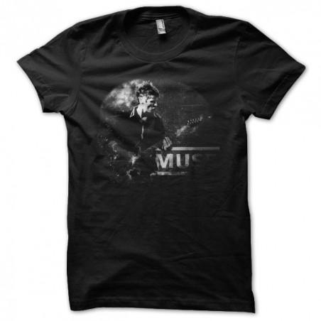 Muse classic black sublimation t-shirt