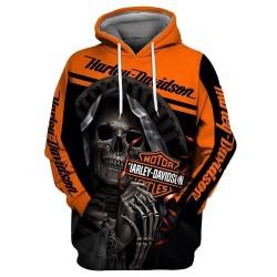 harley davidson jacket hoodie