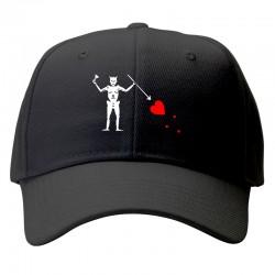 blackbeard black flag cap