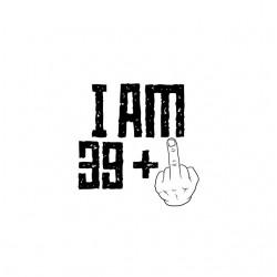 tee shirt j'ai plus de 39 ans sublimation