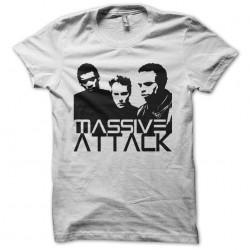 Tee shirt Massive Attack band artwork  sublimation