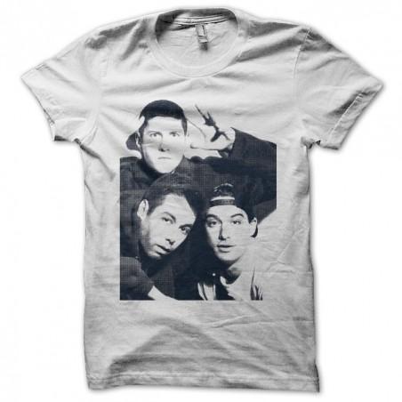 T-shirt Beastie Boys band halftone white sublimation