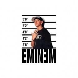 Eminem police face shirt...