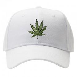 casquette feuille de weed