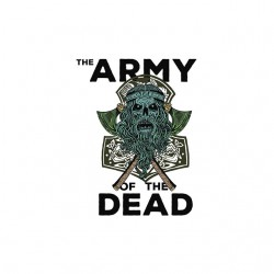 the army of the dead tshirt sublimation