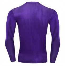 tee shirt le joker cosplay moulant compression gym