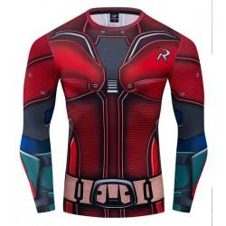 robin cosplay fitness shirt...