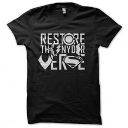 restore the snyder verse...