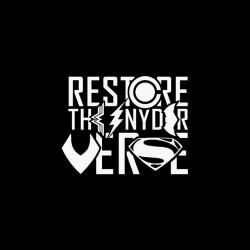 restore the snyder verse tshirt sublimation