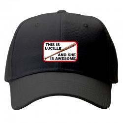 lucille walking dead cap