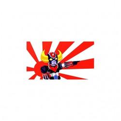 goldorak japan tshirt sublimation