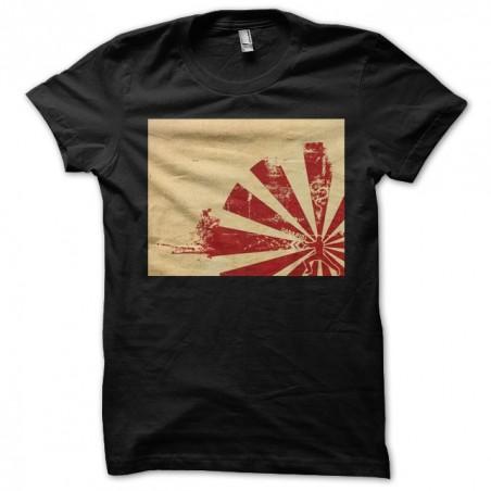 T-shirt the samurai of Japan black sublimation