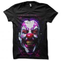 psychopat clown tshirt...