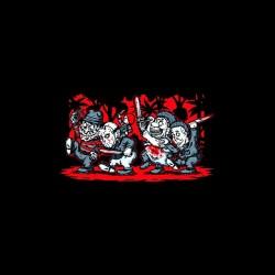 serial killers cartoon tshirt sublimation