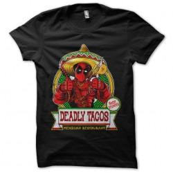 tee shirt deadpool deadly...