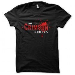the crimson screen tshirt...