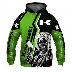 kawasaki jacket hoodie...