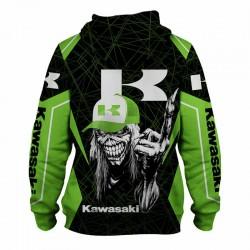 kawasaki jacket hoodie death match