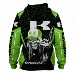 Veste à capuche kawasaki death match