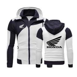 white honda jacket hoodie fly