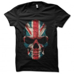 tee shirt english skull...