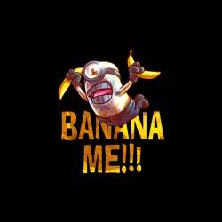 tee shirt banana me sublimation