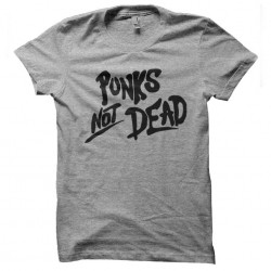 punks not dead tshirt...