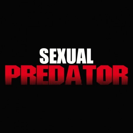 Sex predator black sublimation t-shirt