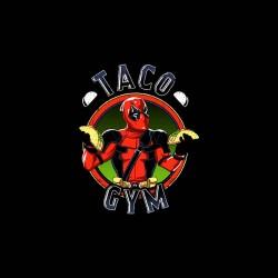 tee shirt taco gym deadpool sublimation