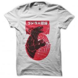 godzilla tshirt sublimation