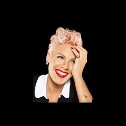 Pink fan art black...