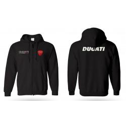 ducati hoodie with zip