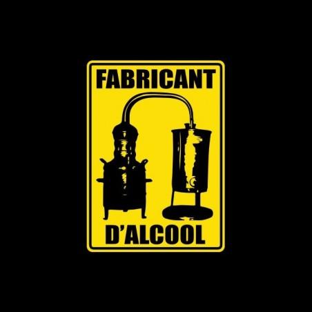 T-shirt manufacturer Alcool panel black sublimation