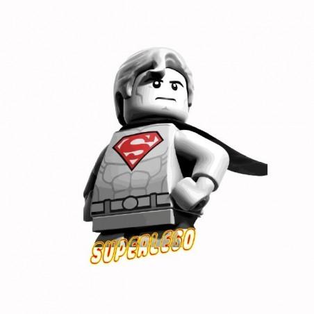 Superman superlego parrot lego parrot t-shirt white sublimation
