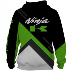 Veste à capuche kawasaki ninja