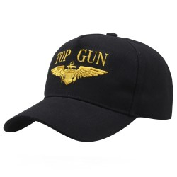 casquette top gun brodée